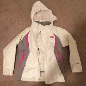 "North Face ""Hyvent"" windbreaker/rain jacket"